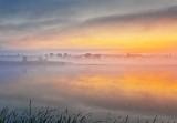 Misty Foggy Otter Creek At Sunrise DSCN64510