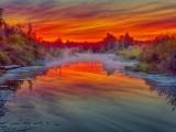 Misty Irish Creek Sunrise DSCN65119-21