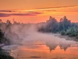 Misty Irish Creek Sunrise DSCN66412