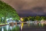 Victoria Basin At Night 90D-00536-9
