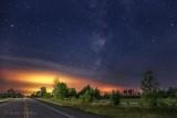 Milky Way Beyond Split Rail Fence 90D-00686