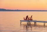 Muskoka (Adirondack) Chairs At Sturgeon Lake 90D-01699