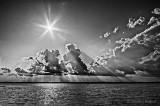 Sun Over Sturgeon Lake 90D-01619-23BW