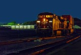 CP 8843 Westbound At First Light 90D-02378