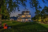 Kawartha Voyageur At Night In Merrickville 90D-02584-8