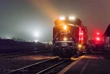 CP 8155 Westbound On A Foggy Night 90D-02807