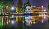 Kawartha Voyageur At Night In Smiths Falls 90D-02914-8