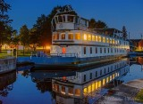 Kawartha Voyageur At Night In Merrickville 90D-02614-8