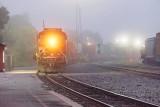 CP 8705 Tail End Of CP 113 In Foggy Rail Yard 90D-03453-6