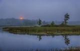 Sturgeon Moon Setting Beyond The Swale 90D03913-6
