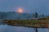 Sturgeon Moon Setting Beyond The Swale 90D03883-6