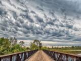 Interesting Sky Over Lift Bridge DSCN71628