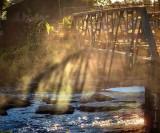 Bridge Shadow In Mist DSCN73859-61