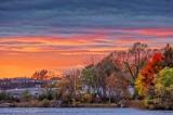 Autumn Rideau Canal At Sunset 90D07891-5