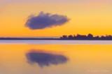 Lone Cloud At Sunrise 90D07761-5 'Art'