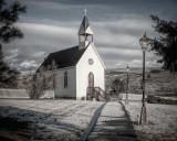 Church at O'Keefe Ranch