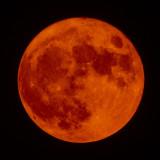 Another smokey Full Moon