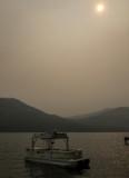 Smoky Donner Lake