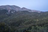 Wheeler Peak at the Mather Overlook