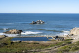 The remains of Sutro Baths