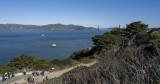 Hiking the California Coastal trail to the Golden Gate bridge