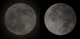 Frosty Moon and the Penumbra Lunar Eclipse