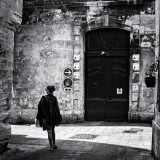 in  street of Arles (south of France)