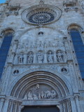 Como cathedral west entrance