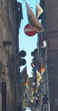 Narrow street in Siena