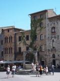 San Gimignano central square