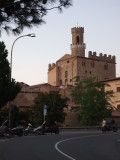 Palazzo dei Priori in the late afternoon