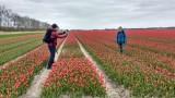 Swifterbant, Tulpenroute Flevoland en Pionierspad 25 april 2021