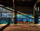 Old Warehouse Grafitti #1