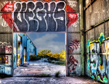 Structures / Buildings/ Grafitti