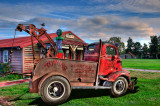 '46 Chevy COE Worker Tow Truck