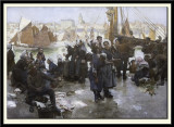 The Departure of the Fishing Fleet, Boulogne, 1891
