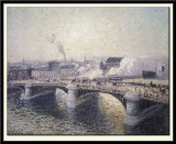 The Pont Boieldieu at Rouen, Sunset, 1896