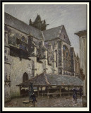 The Church of Moret in the Rain, 1894