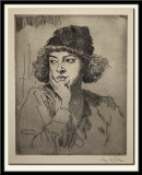 Head of a Girl, 1919