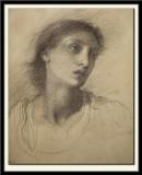 Head Study of Maria Zambaco, 1869-71