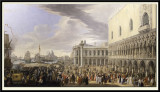 The Arrival of the 4th Earl of Manchester in Venice, 22nd September 1707