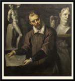 Portrait of an Artist (possibly Antonio Vassilacchi), around 1600