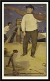 Fisherman carrying Sail, 1906-07
