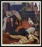 The Death of Sir Tristram, 1864