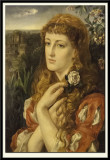A Lady Holding a Rose, 1870-73