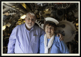 Adrienne and me in the Aft Torpedo Room