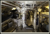 Looking from the Aft Torpedo Room through to the Engine Room