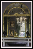 Overmantel Mirror and Chandelier