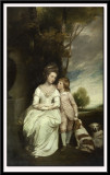 Anne, Countess Albemarle and Her Son, 1777-9