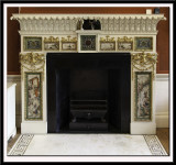 Fireplace, early 1770s